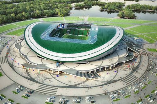 «Рубин» сыграет на новом стадионе в ноябре