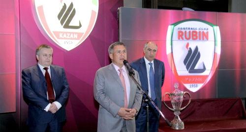 Глава Татарстана встретится с представителями «Рубина»