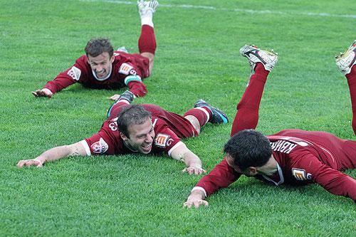 «Рубин» провел два товарищеских матча